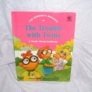Jim Henson's Muppets THE TROUBLE WITH TWINS Jealousy Book 1993 H/C