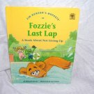 Jim Henson's Muppets FOZZIE'S LAST LAP Not Giving Up Book 1993 H/C