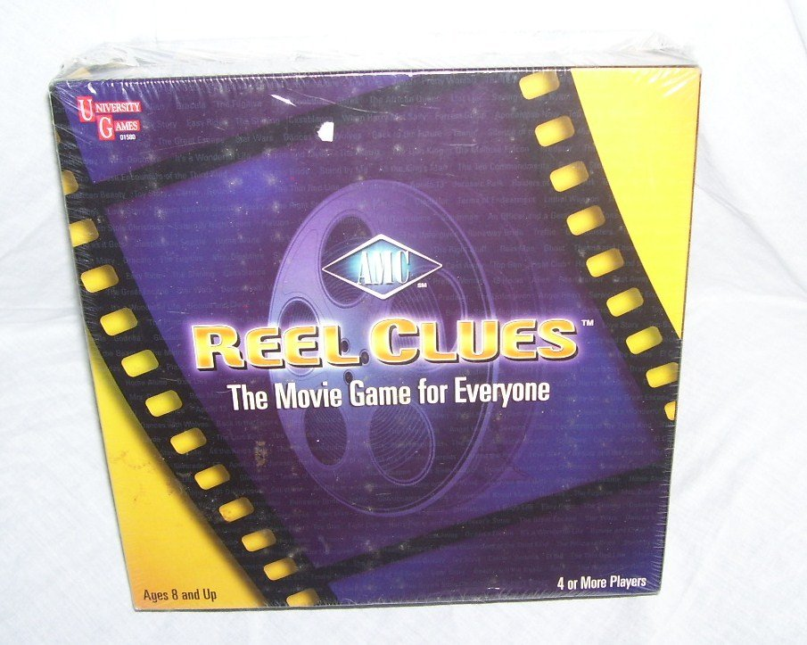 AMC REEL CLUES MOVIE BOARD GAME * NEW & SEALED * FROM 2002