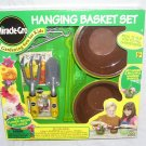 MIRACLE-GRO HANGING BASKET SET FOR KIDS NEW! w/SEEDS & TOOLS