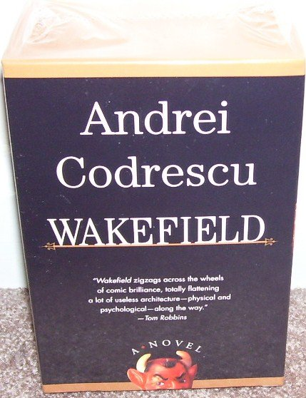 WAKEFIELD Audio Book By Andrei Codrescu NEW! 10 HOURS ON 6 TAPES!
