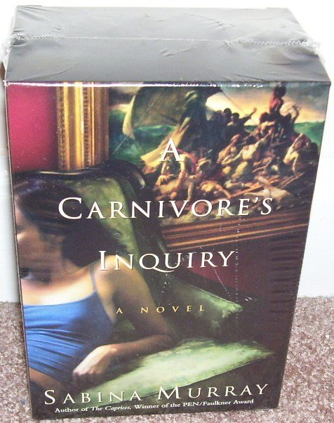A CARNIVORE'S INQUIRY AUDIO BOOK By Sabina Murray NEW! 9 3/4 HOURS 6 TAPES