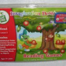 Leap Frog Imagination Desk READING GAMES Lesson 3 Book & Cartridge NEW!
