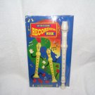 My Fun To Learn RECORDER Book with Instrument NEW! 1997