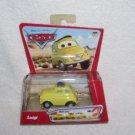 Disney Pixar Cars LUIGI Pullbax Vehicle NEW! 2005