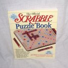 The Official SCRABBLE PUZZLE BOOK NEW! FIRST Pocket Books Printing 1997