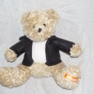 "Galerie REESE'S Bear 7"" Plush in Faux-Leather Jacket"