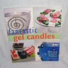 FANTASTIC GEL CANDLES Book By Marcianne Miller NEW! 2002