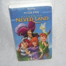 Disney PETER PAN RETURN TO NEVER LAND * VHS * VIDEO NEW!