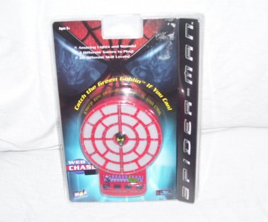 Spider-Man WEB CHASE Electronic Handheld Game NEW! From 2002