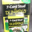 7-CARD STUD FOR DUMMIES Card Game NEW! w/40 pg Guidebook 2004
