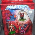 Masters of the Universe Heroes vs Villains Gift Pack 2002 w/Exclusive Figure