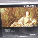Ouvertures G ROSSINI Barber of Seville CD VOLUME 7 William Tell NEW!