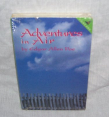Edgar Allen Poe Adventures in Air Audio Book UNABRIDGED Cassettes NEW!