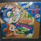 OCEAN PLAYGROUND - 2 Storybooks and Read-Along CD NEW! From 2006
