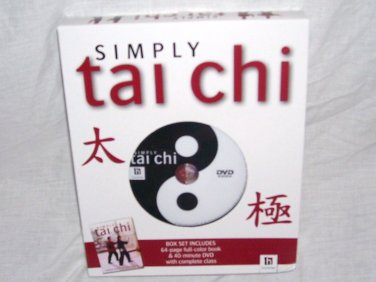 SIMPLY TAI CHI Book & DVD Box Set NEW! COMPLETE CLASS