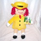 "Kohls For Kids MADELINE Plush Doll 14"" NEW WITH TAG!"