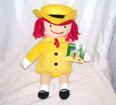 """Kohls For Kids MADELINE Plush Doll 14"""" NEW WITH TAG!"""