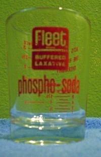 Fleet Phospho-Soda Measuring Glass