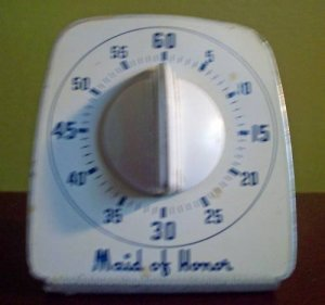 "Vintage ""Maid of Honor"" Kitchen/Oven Timer"