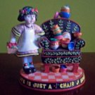 Mary Engelbreit Life Is A Chair of Bowlies Figurine