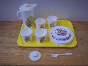 Vintage Barbie Tea Set Dishes