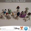 Nice Lot of 10 Disney 101 Dalmatians McDonald Dalmatian Toys Figures Christmas 1996