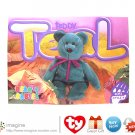 Beanie Babies Collector's Cards Series 4, 2nd Edition, TEDDY TEAL the Bear #246 Lot Listed!