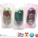 Kellogg's Disney Movie Wobblers 2005 Cereal Promo Lot PETER PAN #35, CROCODILE #11, CAPTAIN HOOK #8