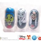 Kellogg's Disney Wobblers 2005 Cereal Promo Lot JIMINY CRICKET #27, CRUELLA DE VIL #12, WITCH #49