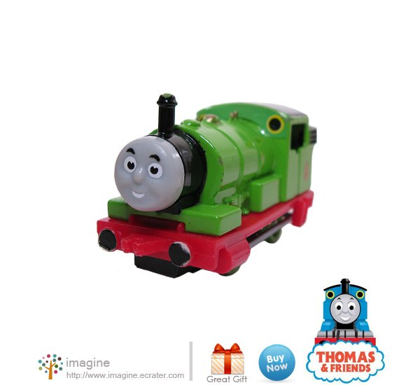 Thomas the Tank Engine & Friends Percy #6 Green Train Diecast ERTL ©1987 - A Lot More Listed!