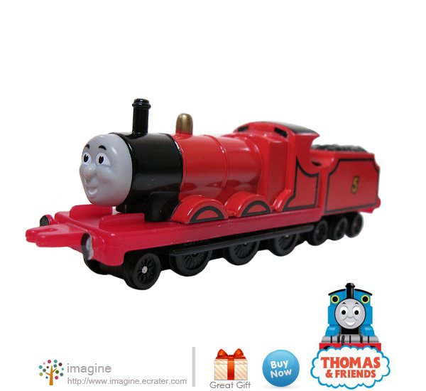 Thomas the Tank Engine & Friends James #5 Red Train Tender Diecast ERTL ©1987 - A Lot More Listed!