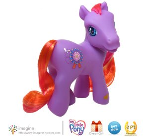 My Little Pony MLP G3 Rainbow Wishes Amusement Park Pony ROUND N ROUND - A Lot More Ponies Listed!
