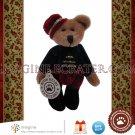 "Retired Boyds Bears T.F. WUZZIES Bellhop Bear Timothy F. Wuzzie Boyd Mini 3"" Christmas Plush New Tag"