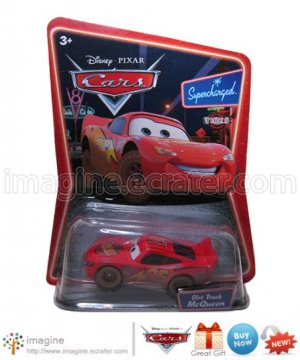 Disney Pixar World of Cars Movie Toy Dirt Track McQueen #03 Mint on Card Mattel Lot Listed