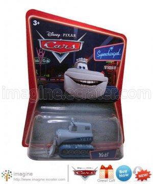 Disney Pixar World of Cars Movie Toy Yeti Snowplow Mint on Card Mattel Lot Listed