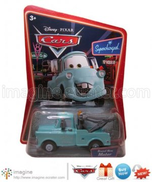 Disney Pixar World of Cars Movie Toy Brand New Mater #19 Mint on Card Mattel Lot Listed