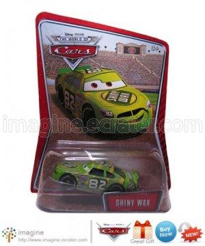 Disney Pixar Cars Toy Shiny Wax #82 Kmart (K-mart) Days EXCLUSIVE Mint on Card Mattel Lot Listed