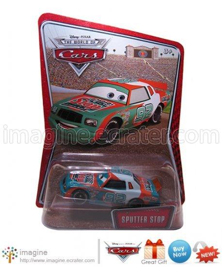 Disney Pixar Cars Toy Sputter Stop #92 Kmart (K-mart) Days EXCLUSIVE Mint on Card Mattel Lot Listed