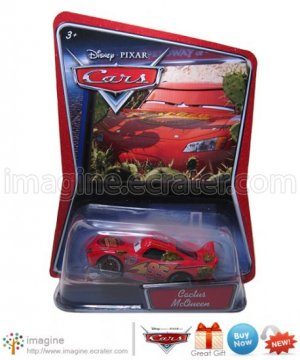 Disney Pixar Cars Movie Toy Cactus McQueen WALMART EXCLUSIVE Mint on Card Mattel Lot Listed