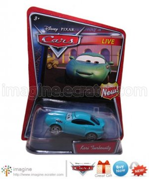 Disney Pixar Cars Movie Toy Kori Turbowitz WALMART EXCLUSIVE Mint on Card Mattel Lot Listed