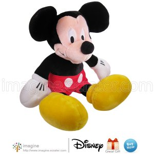 """17"""" MICKEY MOUSE Disney Store Exclusive Plush Toy Cartoon Stuffed Animal Classic Mickey High Quality"""
