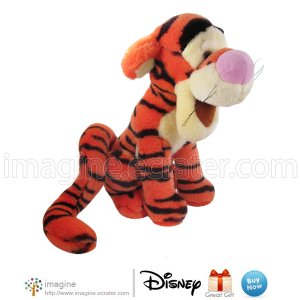 """11"""" TIGGER the Tiger Disney Store Exclusive Plush Toy Winnie the Pooh & Friends Stuffed Animal"""