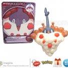 Wormadam Sandy #413 Pokemon Diamond and Pearl Series 9 Figure w/Card (Nintendo Jakks Pacific ©2008)