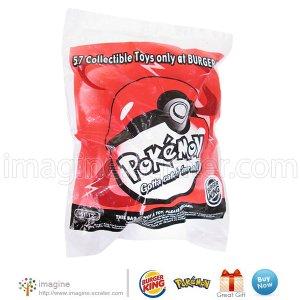 Burger King Pokemon Meowth Beanbag Toy Figure w/ Pokeball MIB # 51-12 ©1999 Nintendo Lot Listed!