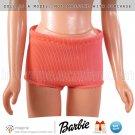 Vintage Barbie Clothes Midge Straight Legs 1963-1967 Orange Nylon Swimsuit Bottoms Doll Clothing