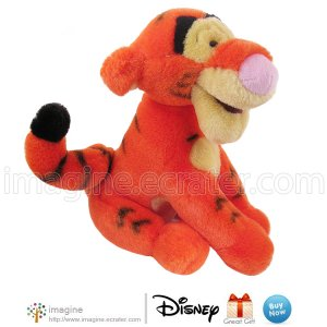 "8"" TIGGER the Tiger Walt Disney World Exclusive Plush Toy Winnie the Pooh & Friends Stuffed Animal"