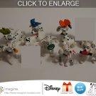Nice Lot of 7 Disney 101 Dalmatians McDonald Dalmatian Toys Figures Christmas 1996