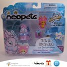 Neopets Series 1 Collector Figure Pack Faerie Cybunny Pink Ona Petpet Jakks Pacific 2008 New in Box