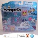 Neopets Series 1 Collector Figure Pack Faerie Scorchio Snorkle Petpet Jakks Pacific 2008 New in Box
